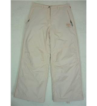 Saltrock Size 14 Light Cream Thermal Lined Trousers
