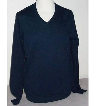 M&S Marks & Spencer - Size: S - Blue - Sweater