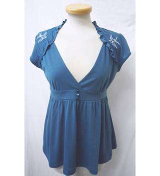 Steady - Size: M - Turquoise Blue Top