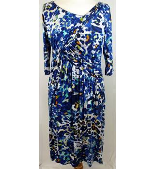 Size: 8 - Blue - Asymmetrical dress