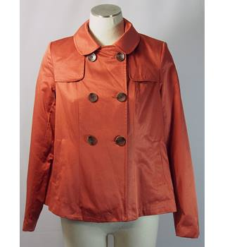 BNWT New Look jacket - burnt orange  - size 10