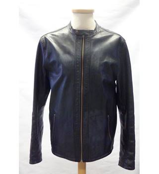 Selected Size: XS Black Leather jacket
