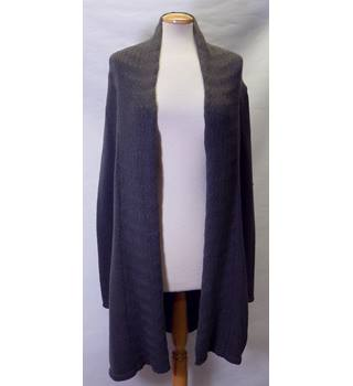 Leo & Nicole Size S Grey Full sleeved Cardigan