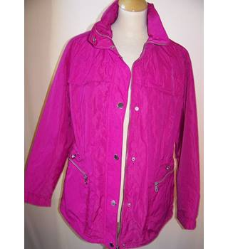 M&S Collection Marks & Spencer - Size: 16 - Pink - Casual jacket / coat