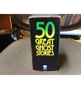 Fifty Great Ghost Stories Fontana 6 book boxset comprising Fontana Books of Great Ghost Stories 1 to 4 and 6 and 9
