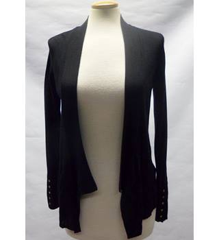 Per una Size: 10 Black long sleeve Cardigan