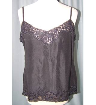 Kew size 14 black sleeveless top