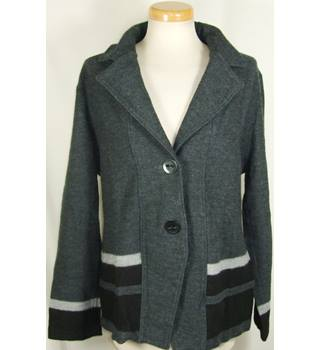 Gerry Weber Edition size 16 grey wool jacket