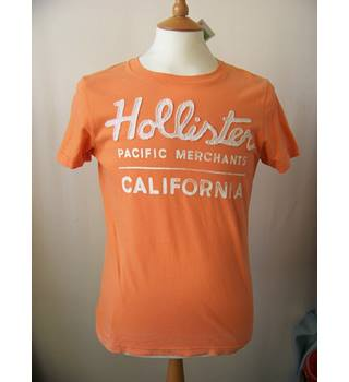 Hollister - Size: S - Orange - T-shirt