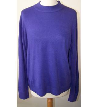 Classic at Marks & Spencer - Size: 12 - Purple - Jumper