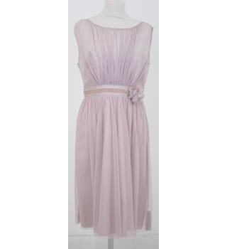 BNWT Début - Size: 12 - Pink mesh dress with corsage