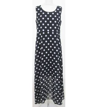 Elite 99 - Size: S - Black spotted maxi-dress