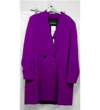BNWT Jaeger size M purple coat
