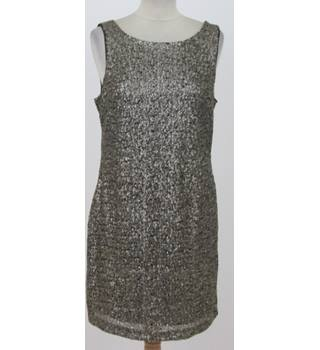 BNWT: PULL&BEAR: Size L: Gold sequined party dress