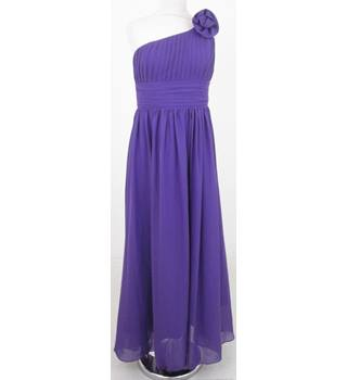 Angel Star - Size: M - Purple one shouldered dress