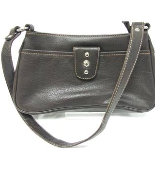 Women's Jane Shilton  Brown Leather Handbag Jane Shilton - Size: Not specified - Brown