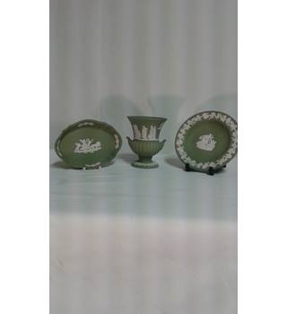 Wedgwood Jasperware  sage green