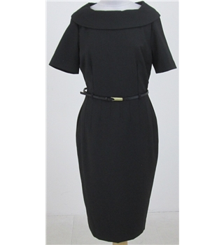 BNWT Gok for Tu size 10: black bardot neck dress