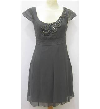 Karen Millen Size 12 Grey Dress