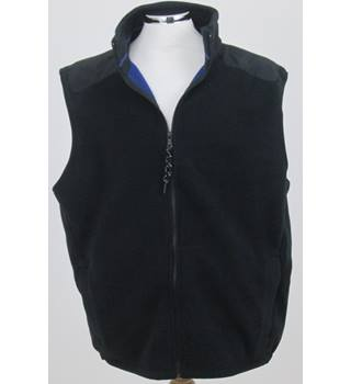 M&S Collection - Size XL - Black Zipped Body Warmer