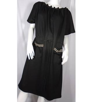 Jaeger - Size: 16 - Black - Knee length dress