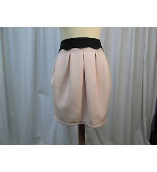 Dorothy Perkins - Size: 12 - Pale Pink/black - Mini skirt