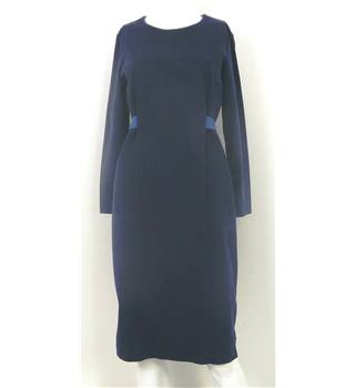 COS Size 36 chest Navy Knee Length Dress