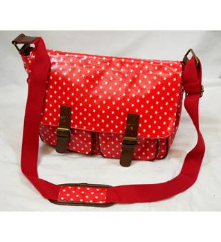 Unbranded - Red and white - Satchel bag