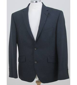 "NWOT M&S Collection - Size 40"" Short - Navy blue Single breasted suit jacket"