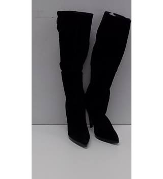Dune - Size: 8 - Black -  Suede Boots
