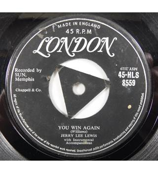 You Win Again / I'm Feelin' Sorry Jerry Lee Lewis HLS 8559