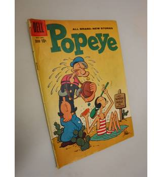 Dell Oct. - Dec. Popeye Vol. 1, No. 50.