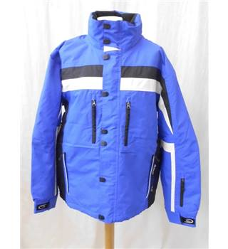 Crane - Size: M - Blue with White & Black Hiking Jacket