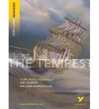 York Notes Advanced: The Tempest, William Shakespeare