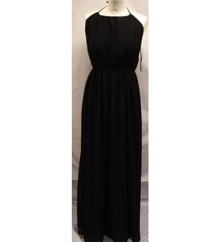 Apricot - Size: S - Black - Evening dress