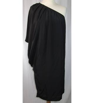 Marion and Lindie - size  8 - Black - Silk - Evening dress