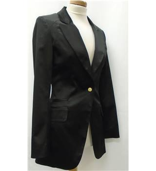 Prada Size 8  Black Smart Jacket