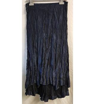 Per Una - Size: 10 - Blue - Calf length skirt