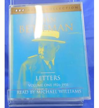 John Betjeman Letters Volume 1 1926-51 (BBC Radio Collection): 1926-51 v. 1 (Audio Cassette)