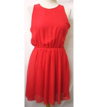 Rare - Size: 10 -Blood Red - Short dress
