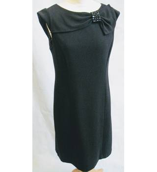 Dress Barn black shift dress with jewelled detail size 8 Dress Barn - Size: 8 - Black - Short