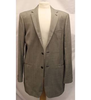 Balmain - Size: L - Grey - Single breasted suit