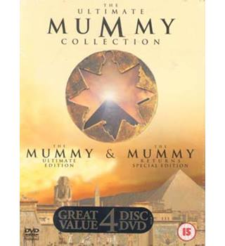 The Ultimate Mummy Collection 4 dvd box set