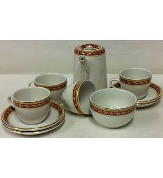 Sampson Bridgewater - Espresso Coffee Set - Vintage - England