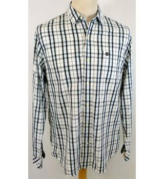 Timberland - Size: L - Checked - 100% cotton - Long sleeved Shirt