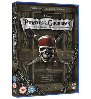 PIRATES OF THE CARIBBEAN 1-4 12