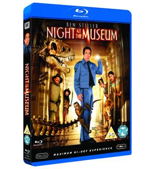 NIGHT AT THE MUSEUM (Blu-ray) PG