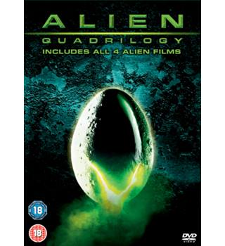 ALIEN QUADRILOGY box set 18