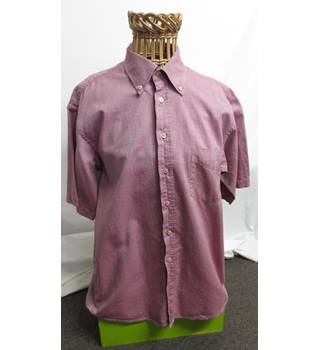 Mens shirt Jaeger Size Large Jaeger - Size: L - Purple - Short sleeved