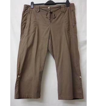 BHS - Size: 16 - Brown - Trousers